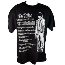 SCARFACE THE RULE Black T-Shirt