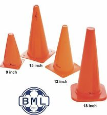 """PRECISION TRAINING TRAFFIC CONES (SET OF 4) Heights 9"""" - 12"""" - 15"""" - 18"""""""