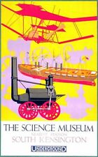 1928 London Science Museum Poster  A3 / A2 Print