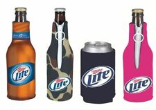 Miller Insulated Neoprene Bottle and Can Koozies - Miller Light, MGD, High Life