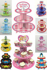BIRTHDAY CUP CAKE CHRISTMAS HALLOWEEN PARTY CUPCAKE STAND MUFFIN TREE 12 DESIGNS