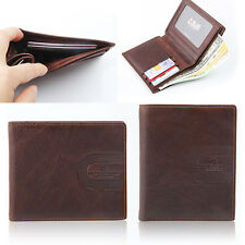 """Maxshop79 NEW Men Genuine Leather """" Inside Credit Card Space """" Wallet  (W-031)"""