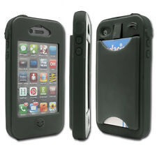 iPhone 4 and 4S Case with Credit Card Slot.  Water-resistant, Durable, Stylish!