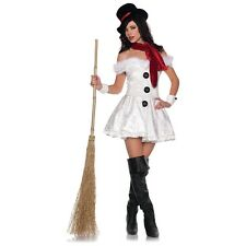 Snow'd In Adult Women Sexy Santa Claus's Frosty Snowman Helper Christmas Costume