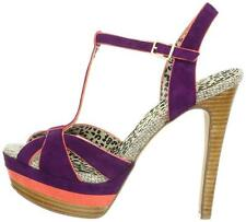 Women's shoes Jessica Simpson AUTUMNS Platform Heels Sandals T- strap Wisteria