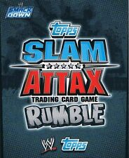 WWE Slam Attax TCG Rumble Choose One Smackdown Card from List [Part 1/2]