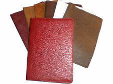 Real Genuine Leather Diary Sleeve Journal Book Case Cover  Album A5 Made in UK