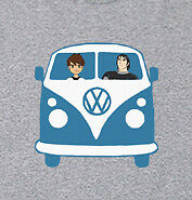 VW Kombi Van Ben10 Kevin Kids Boys GREY T-Shirt 2 3 4 5 6 7 8 9 10 11 12 13 14
