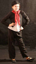 Victorian/Edwardian BLACK WORKHOUSE/URCHIN/BEGGAR/SWEEP Costume all Ages/Sizes