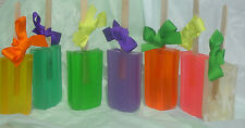 ♥ Handmade Popsicle♥ Ice Pop Soap♥ Fruit Scented  You Pick the Fragrance♥Kids