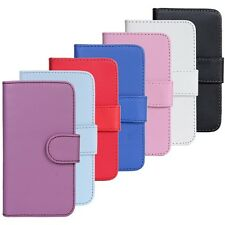 Deluxe Samsung Galaxy S2 II i9100 Flip Wallet Leather Card Hard Case Cover Pouch