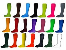 Kids Football Socks Rugby Hockey PE Sports Socks & Adult All Sizes & Colours New