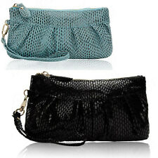 Womens Ladies Girls Coin Purse Clutch Bag Wallet Wristbag Evening Party