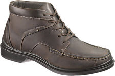 Hush Puppies Ambrose Chukka Boots Brown Leather  Wide Widths! New!
