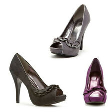 Rampage Women's Genoa Pump In 3 Colors and 9 Sizes