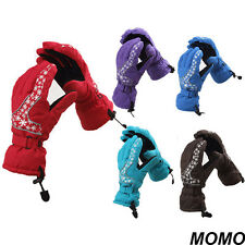 Women's Ski Snowboard Gloves Winter Windproof Warm Outdoor