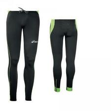 Winter Pants Unisex Athletic ASICS Running LASSE black fluorescent green T247Z6