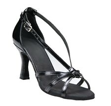 *SELECTABLE MATERIALS COLOR SIMPLE WOMEN'S LATIN SALSA BALLROOM DANCE SHOES_BWC