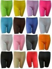GIRL'S COTTON LYCRA SHORT LEGGINGS ABOVE KNEE STRETCHY QUALITY FOR SCHOOL/SPORT