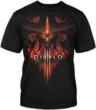 Diablo III 3 Burning New Blizzard Officially Licensed Adult T-Shirt S-4XL