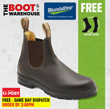 Blundstone 550 'Max Comfort' Work Boots, Elastic Sided Non Safety. Brand New.