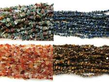 "36"" Gemstone Chip Beads - Choose Your Gemstone"