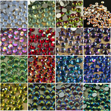 AB color SS6-SS30 2-6mm flat back crystal rhinestones beads nail art ornaments