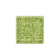 1/2 LB LIME GLITTER CRYSTAL TILES