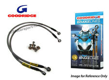 Goodridge Suzuki GSXR750 11 Race Front Braided Brake Lines Hoses Stainless Steel