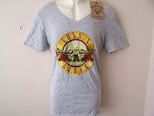 *NEW TAGGED* AMPLIFIED GUNS 'N ROSES DESIGN LIGHT GREY MENS T SHIRT SIZE M 40""