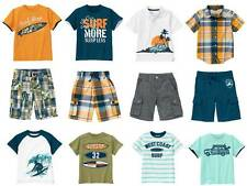 NEW NWT Boys GYMBOREE GONE SURFIN' Tee Polo Shirt Plaid Shorts 6 7 8 10 12