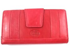 LADIES LARGE PREMIUM QUALITY LEATHER PURSE CREDIT CARD HOLDER IN 9 COLOURS P069