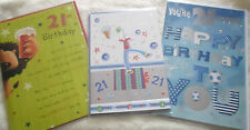 21st BIRTHDAY CARDS (male)