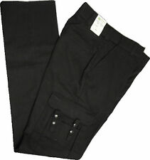 Horace Small    Black  EMT 6-Pocket Pants Stretch Waist  HS25242  SIZE: 28 TO 54