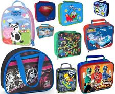 CHILDRENS LUNCH BAGS / BOYS AND GIRLS / NOVELTY TV CHARACTERS / SCHOOL