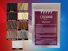 CALVANI 28g - HAIR REFILL FIBERS ** SAVE MONEY REUSING YOUR OLD CONTAINER -