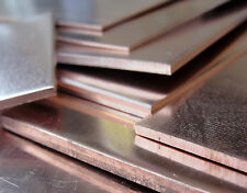 Copper Sheet 600 x 300 mm - 0.9 1.2 1.5 2.0 2.5 & 3.0 mm Thick