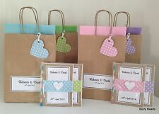 Personalised Children VINTAGE DOTTY Style Activity Pack & Bag Wedding Party Gift
