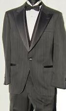 Charcoal Grey Christian Dior Tuxedo Coat & Trousers-Many Sizes