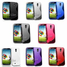 S Line Soft TPU Gel Silicone Case Cover Skin for Samsung Galaxy S4,S IV SGH-i337