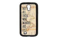 Map S4 S3 SIII Case Samsung Plastic Silicone Wanderlust LOTR Tolkien Wander Lost