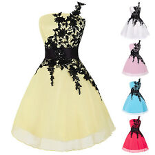 US Stock Womens Short Prom Ballgown Cocktail Homecoming Graduation Party Dresses