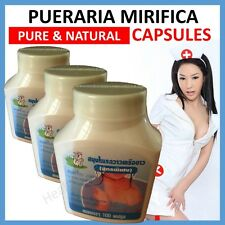PUERARIA MIRIFICA CAPSULE BUST BREAST ENLARGEMENT FIRMING 100% NATURAL 100% PURE