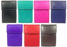NEW MENS LEATHER CREDIT CARD HOLDER LADIES CREDIT CARD WALLET ID HOLDER WALLET