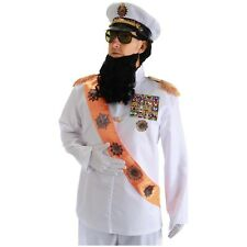The Dictator Costume Adult Funny Halloween Fancy Dress