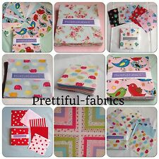 Charm pack 5 inch x 5 inch quilting, patch work, sewing 100 % cotton from £2.99