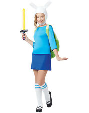 Adventure Time FIONNA Child Costume Hat Backpack Girls Fiona Finn/Jake Halloween