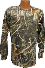 Redhead  Advantage MAX-4 HD Camouflage Long Sleeve   Pocket  T Shirt   S     NWT
