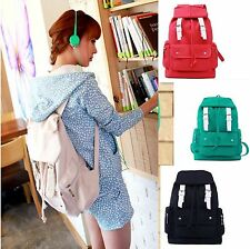 Hot Girls Vintage Canvas Backpack Cute Rucksack Leisure Travel Schoolbag Bookbag