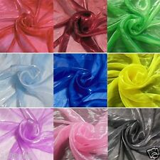 by the Yards Mirror Organza Fabrics Colors Dressmaking Decorative Material